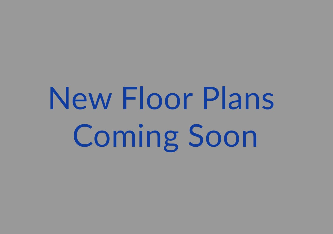 New floor plans coming soon.